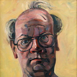 Self Portrait - oil on canvas